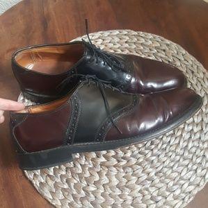 Allen Edmonds Shelton Saddle Oxford Shoes Size 9.5